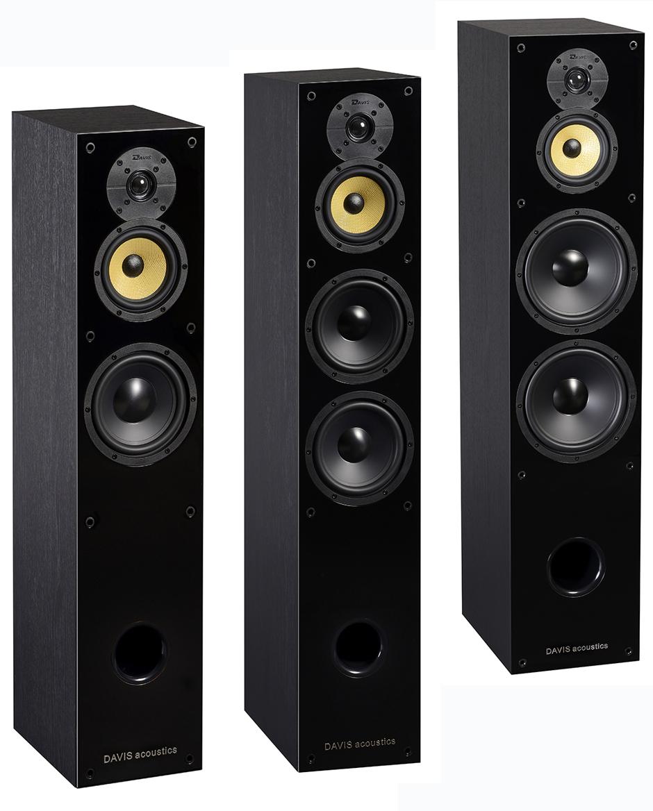 Davis Acoustics Balthus, casse acustiche moderne e ...